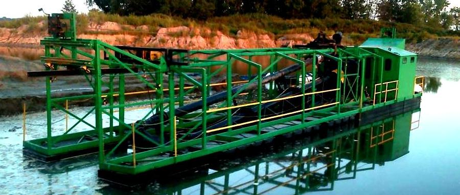 Custom Fabricated Dredge