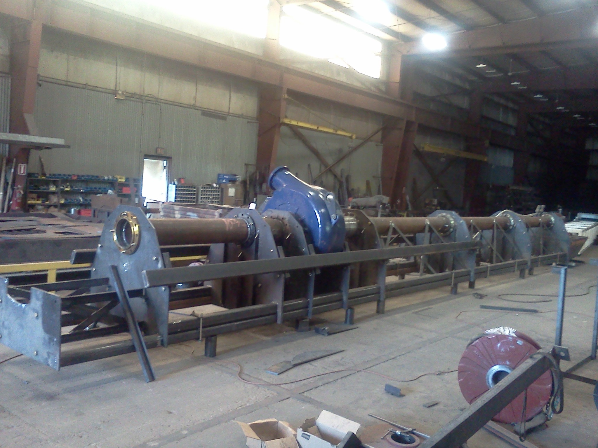 Custom Dredge Fabrication