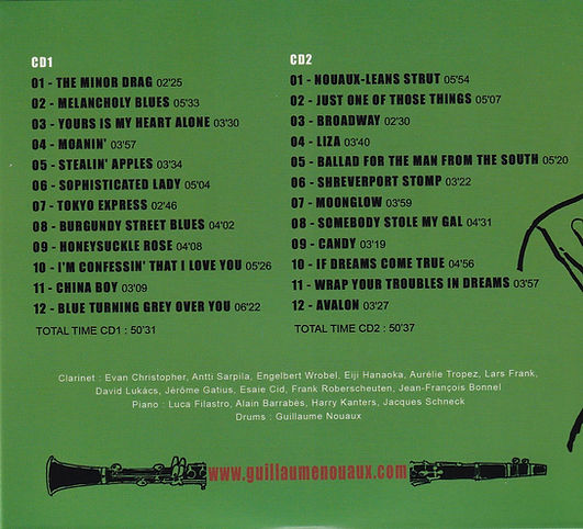 CD Guillaume Nouaux _The Clarinet Kings_