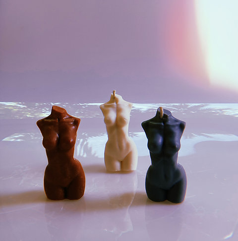New Body Silhouette Candle