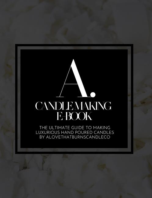 Candle Making E-Book