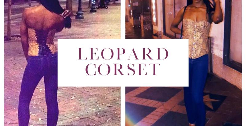 Shop My Instagram: Leopard Corset