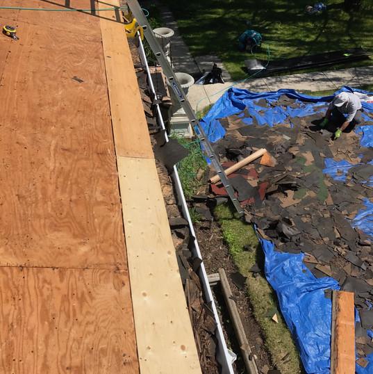 Deckbase repair