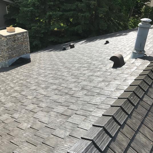 Rubber Roof - Cedar like