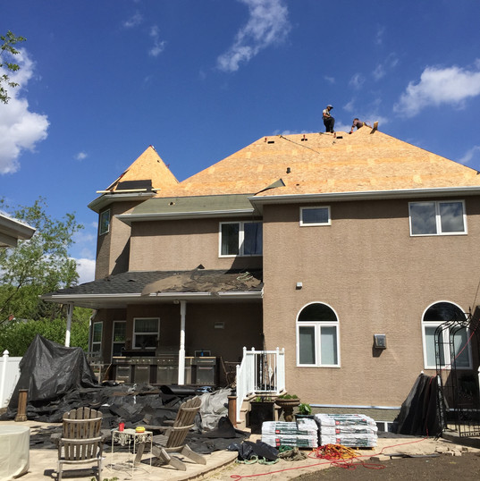 Removing Existing Shingle