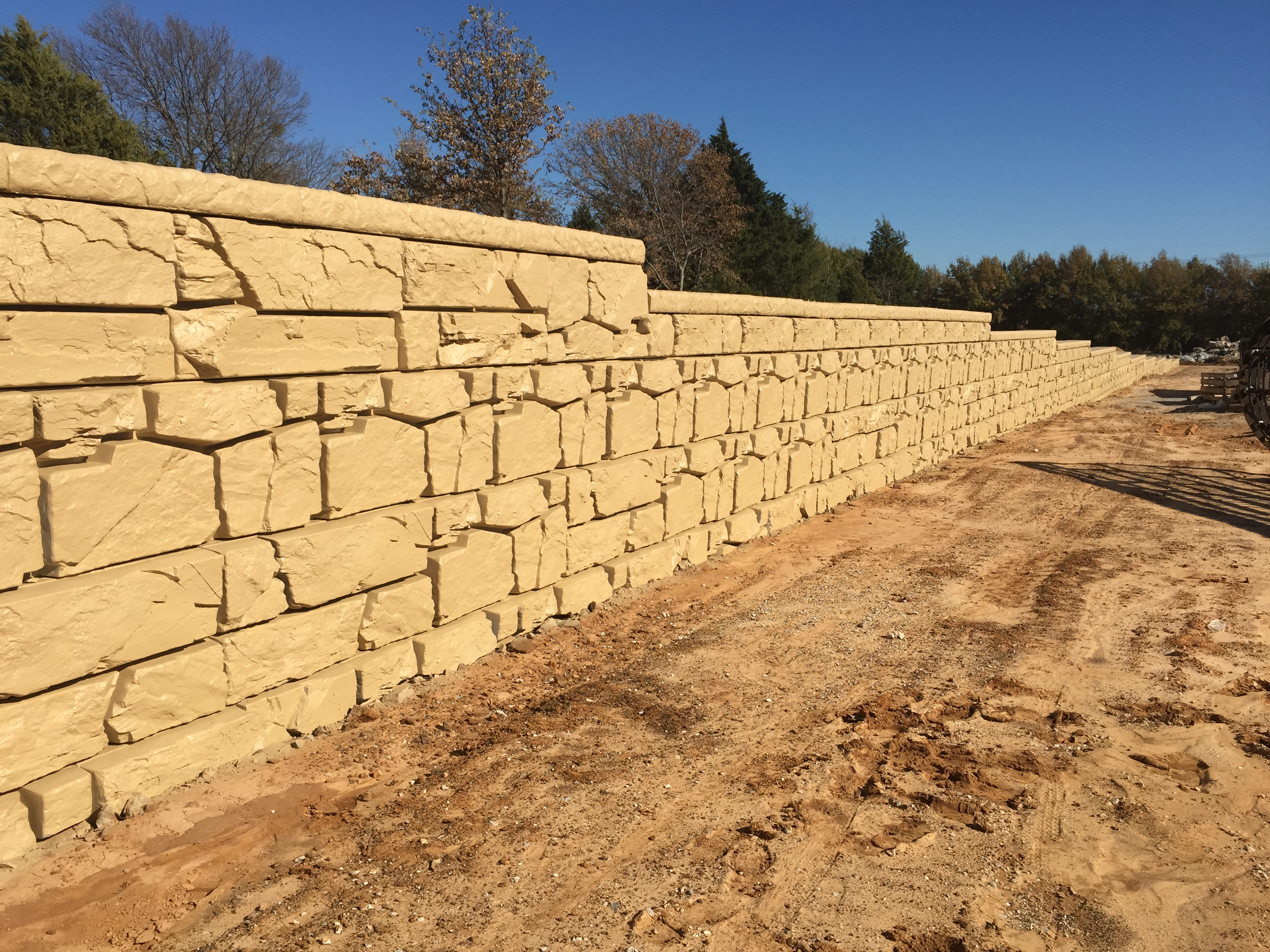 segmental wall