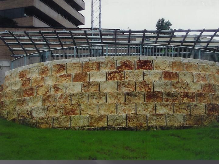 stone retaining wal