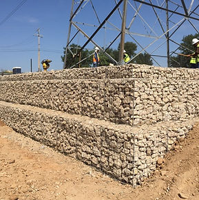 retaining walls gabion