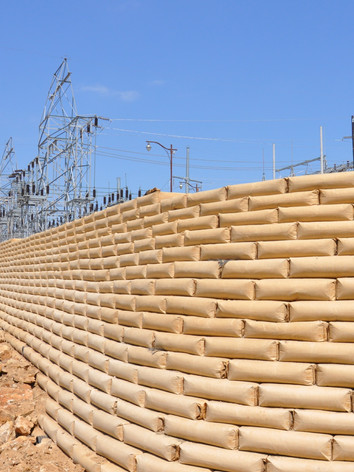 R-Rap Retaining Wall Eastland
