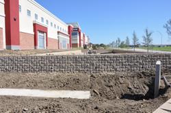 keystone retaining wall