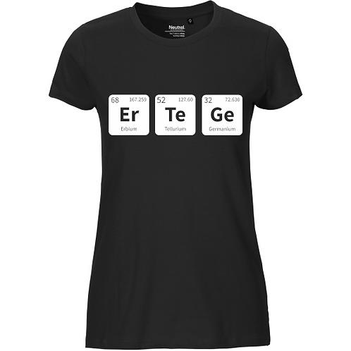 T-Shirt Ladies - ErTeGe weiß