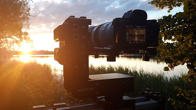 Abendlicher Dreh am Staffelsee