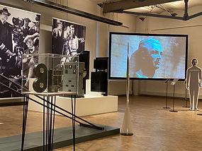 Murnau und Massolle in der Ausstellung Die Grosse Illusion