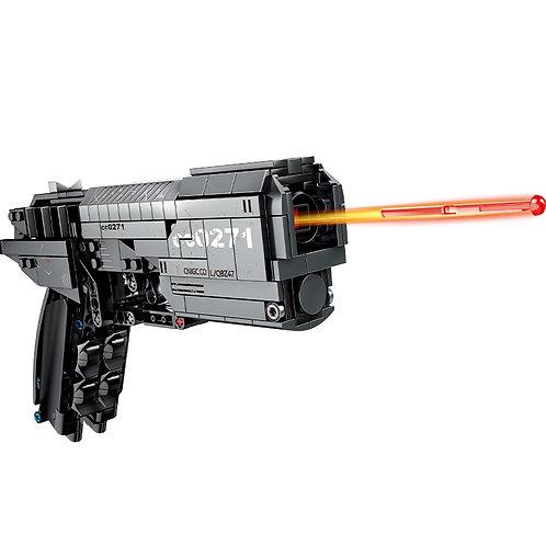 Hipac SEMBO 431pcs Signal Gun Building Blocks Technic the Military Police Pistol