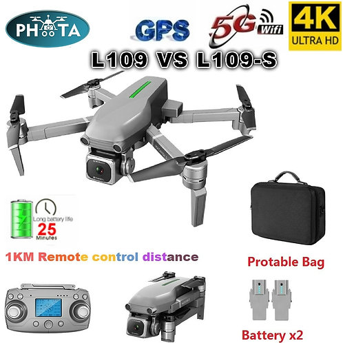 L109 GPS Drone 4K With Camera HD 5G WIFI Quadcopter Drone