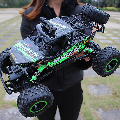 Hipac 1:12 4WD RC Car Updated Version 2.4G Radio Control Car Toys Buggy Off-Road
