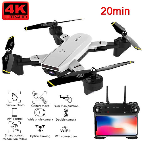 SG700D Drone 4K HD Dual Camera WiFi Transmission Fpv Optical Flow Rc Helicopter
