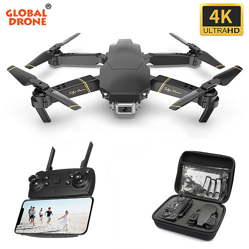 Global Drone 4K EXA Dron With HD Camera Live Video Drone X Pro RC Helicopter