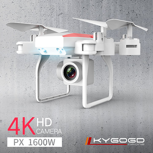 KY606D Drone FPV RC Drone 4k Camera 1080 HD Aerial Video Dron Quadcopter