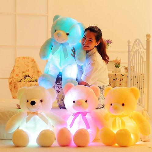 50cm Creative Light Up LED Teddy Bear Stuffed Animals Plush Toy Colorful