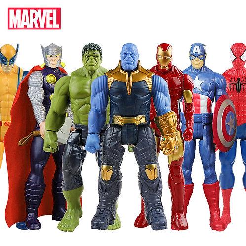 30cm Marvel Super Heroes Avengers Endgame Thanos Hulk Captain America Thor