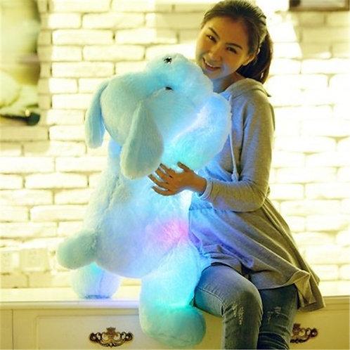1pc 50cm Luminous Dog Plush Doll Colorful LED Glowing Dogs Children Toys