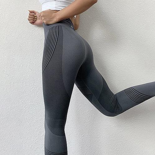 NORMOV Seamless Women Leggings Casual High Waist Push Up Ankle Length Leggings