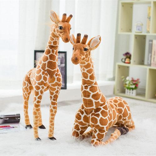 Huge Real Life Giraffe Plush Toys Cute Stuffed Animal Dolls Soft Simulation