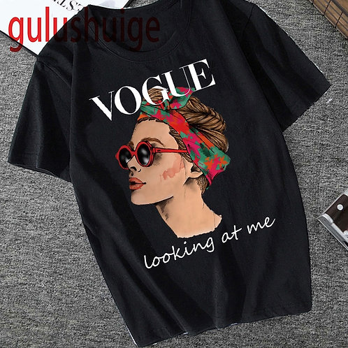 Harajuku Vogue Princess Funny T Shirt Women Ullzang Graphic Grunge Cute Fashion