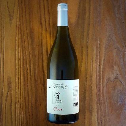 白)Cuvee Kaze Chardonnay 2019 / キュヴェ 風(KAZE)シャルドネ