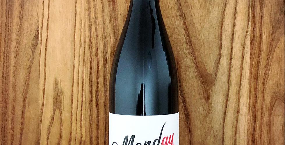 赤)Monday is a wine day, Vin de France 2019 / マンデイ・イズ・ア・ワイン・デイ