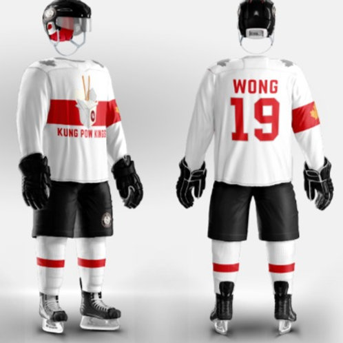 Kung Pow Kings Reversible Team Jersey