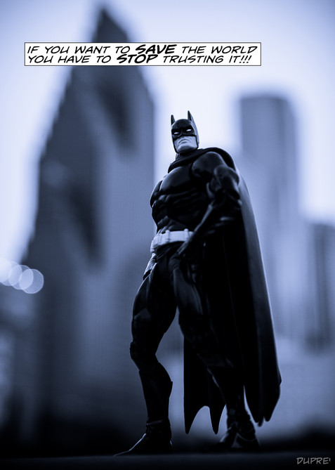 Sean Dupre, Photographer, Fine Art Photography, Pop Art, Batman, Lufkin, Tx