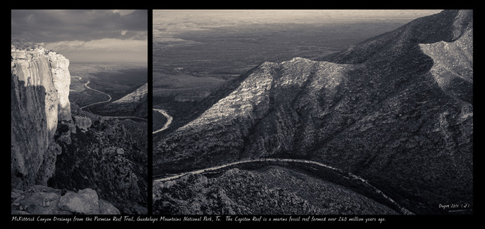Wild Estate, Landscape Photography, Fine Art Photography, Guadalupe Mountains National Park, Artist-in-Residence, Sean Dupre', Lufkin Tx