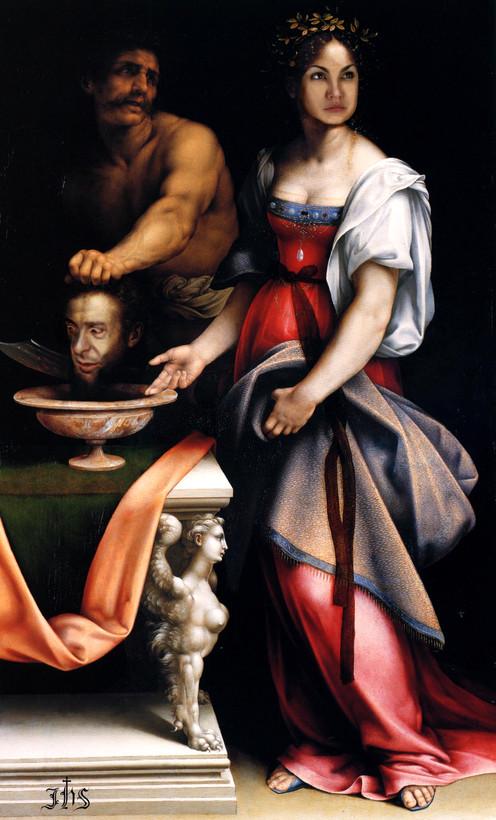Salome (after Cesare da Sesto), 2010.