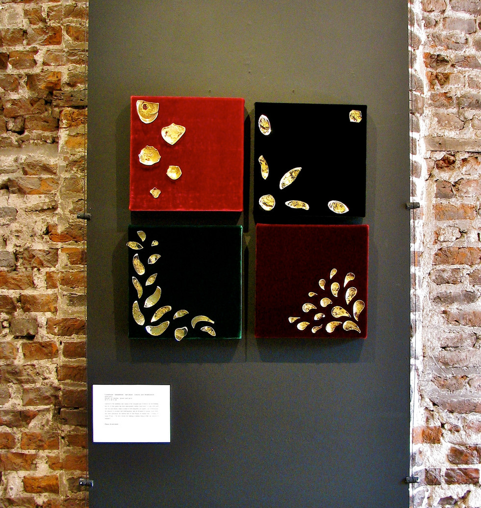 Part the Decadence series on display at The National Trust Sutton House, 2012.