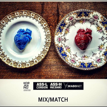 Poster for Mix|Match, which took place in Helsinki, Finland.