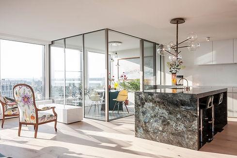 Park Tower luxury apartment Zug