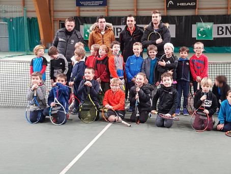 Des jeunes plein de promesses au Seyssinet Tennis Club
