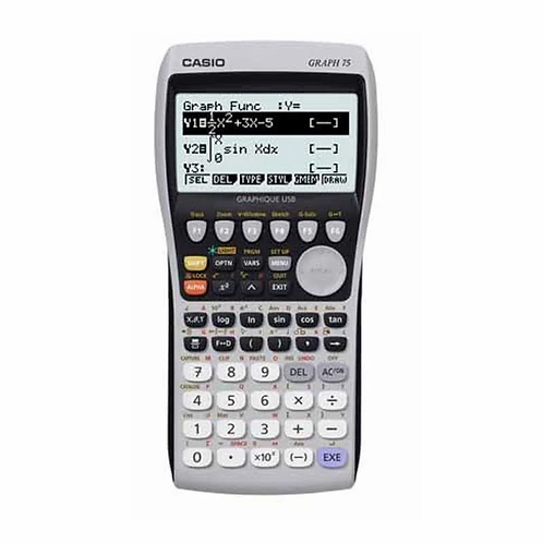 Calculatrice Casio Graph 75+