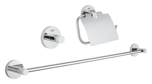 Ensemble d'accessoires de salle de bain 3in1 - GROHE chrome