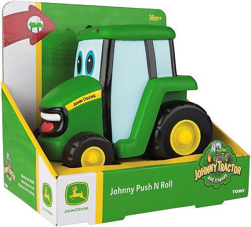 TOMY  JOHN DEERE - Pousse Roule Johnny Le Tracteur - 42925