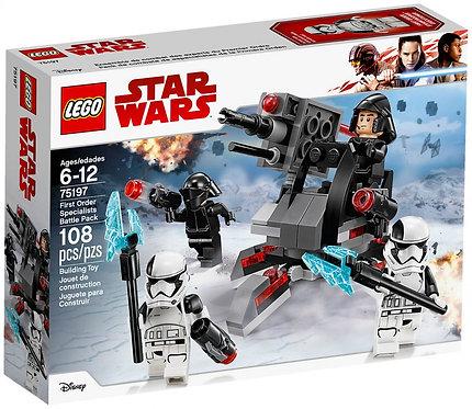 Lego 75197 Star Wars Pack experts du Premier Ordre