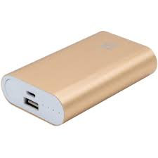 BATTERIE NOMADE TX 6000mah  ( Couleur or )