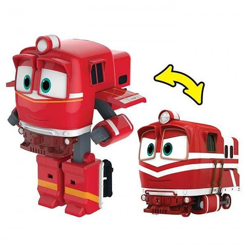 FIGURINE TRANSFORMABLE ROBOT TRAINS