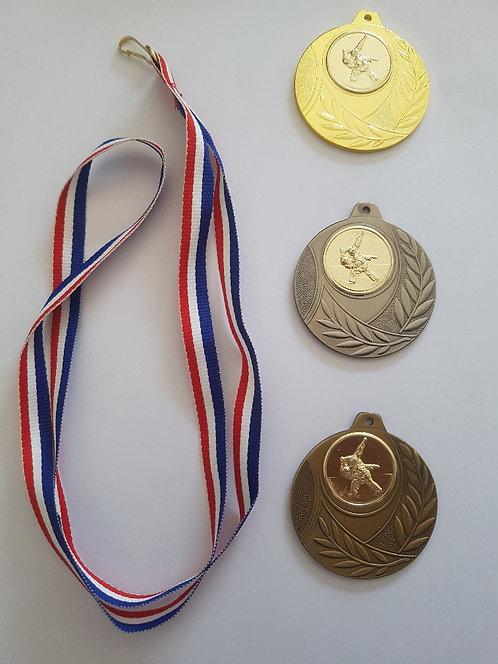 Lot de 3 médailles Challenge