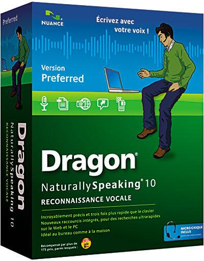 Dragon Naturally Speaking Preferred Version 10