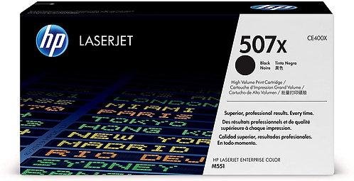 HP 507X Toner Noir Authentique Grande Capacité CE400X