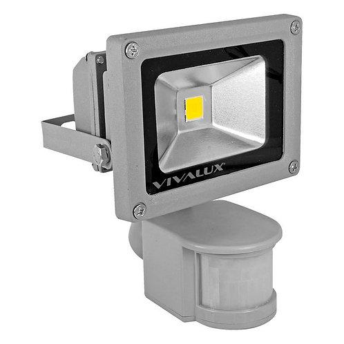 Projecteur LED 10W à détection ip65