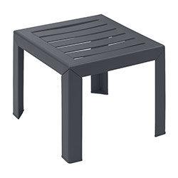 Table basse Miami 40 x 40 cm - Anthracite